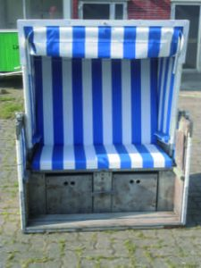 Strandkorb - Zweisitzer